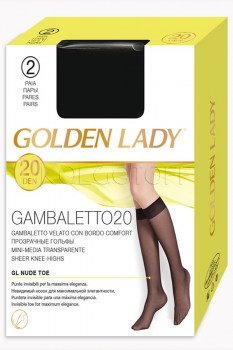 GOLDEN LADY Gambaletto 20