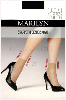 Носки женские MARILYN Petki No Stress light 15